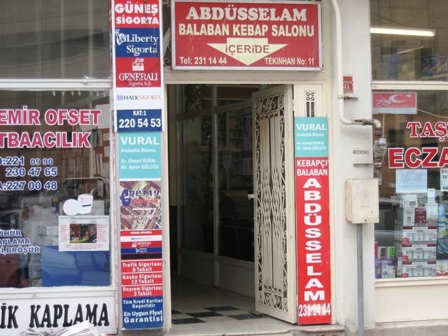 Abdüsselam Balaban Kebap Eskişehir