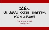 26. Ulusal Özel Eğitim Kongresi