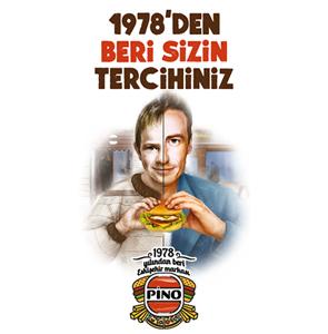 Pino - 1978'den beri bir Eskişehir Markası